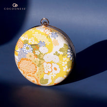 Load image into Gallery viewer, Round Hard Case Clutch Bag - Hanamonogatari