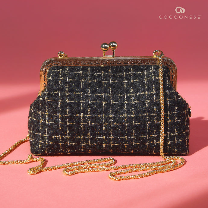 Clasp sling - Timeless Tweed (Black)