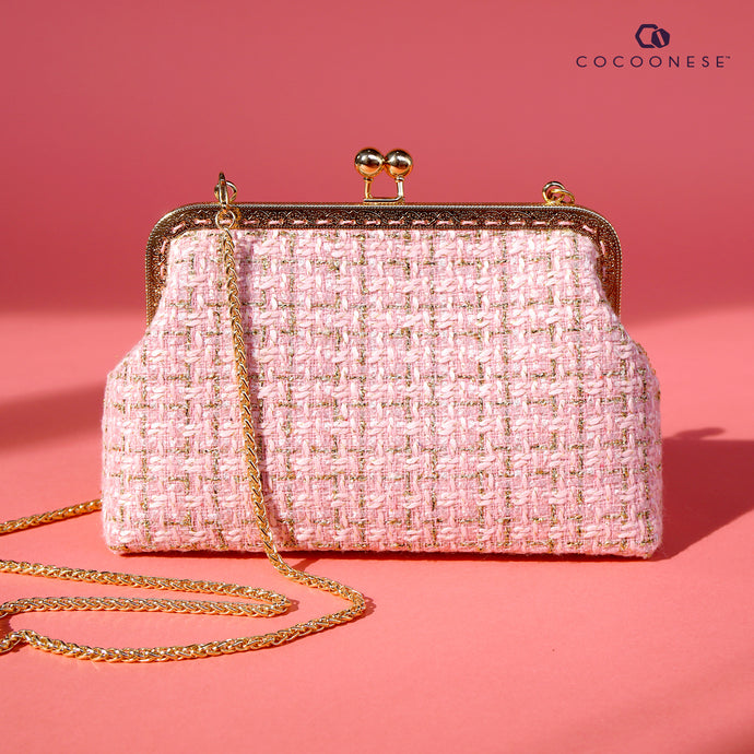 Clasp sling - Timeless Tweed (Pink)