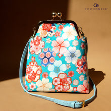 Load image into Gallery viewer, Trapezoid Crossbody Bag - River Blossom
