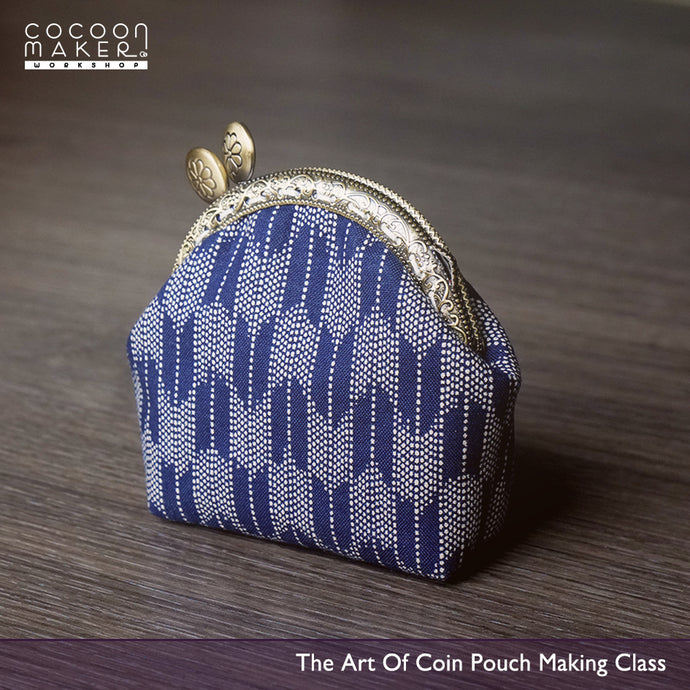 ( Dec 10 ) The Art Of Cotton Bag Making Workshop - Coin Pouch