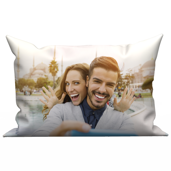 Custom Photo Pillow Case - The Moment of Love