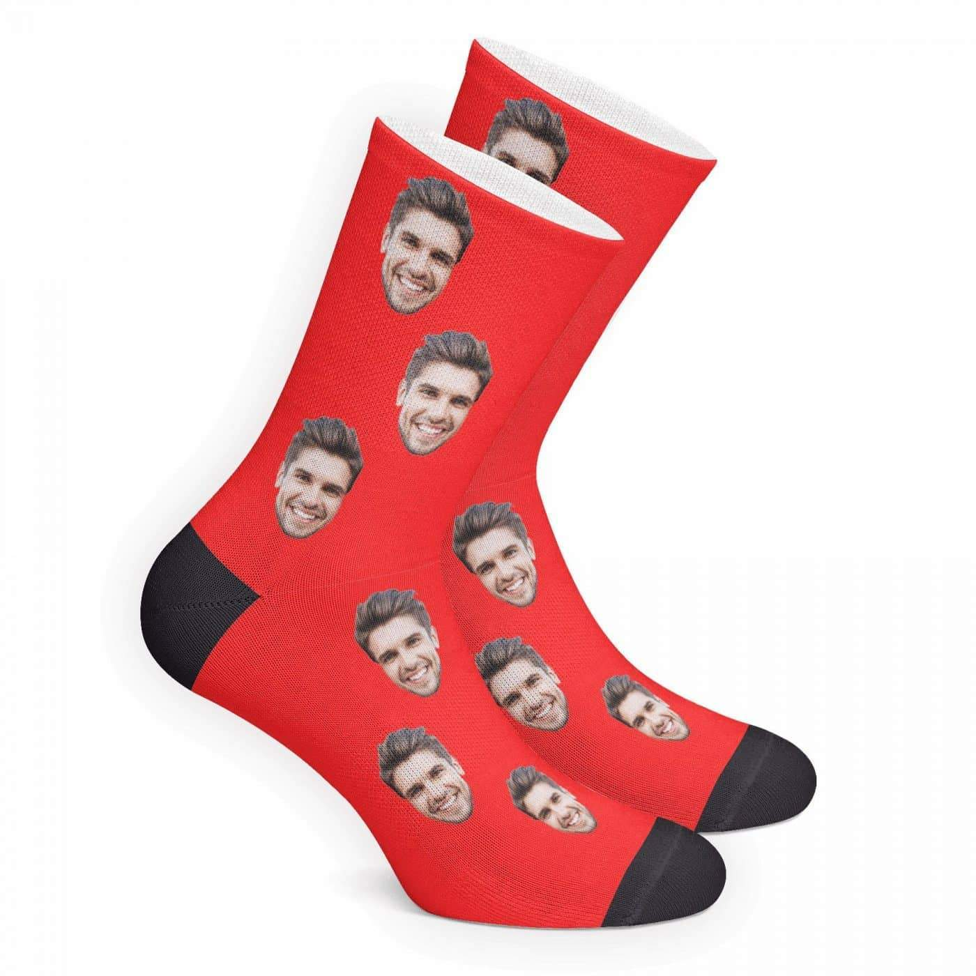 Custom Face Socks - MyFaceBoxer