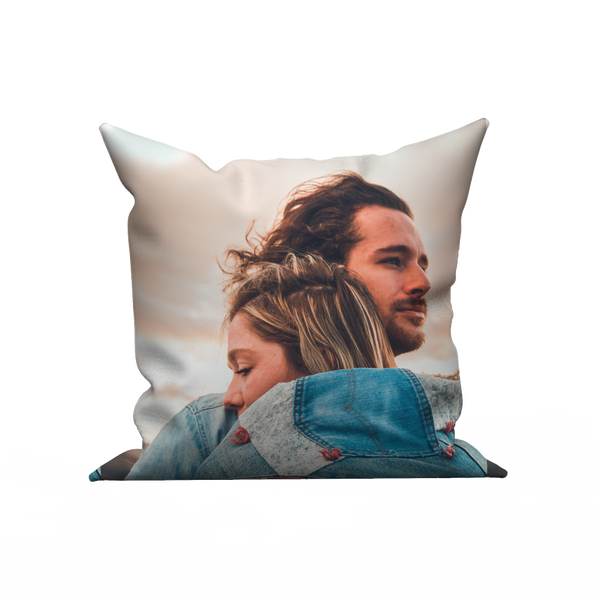 Custom pillow case - Lovers hugging - MyFaceBoxer