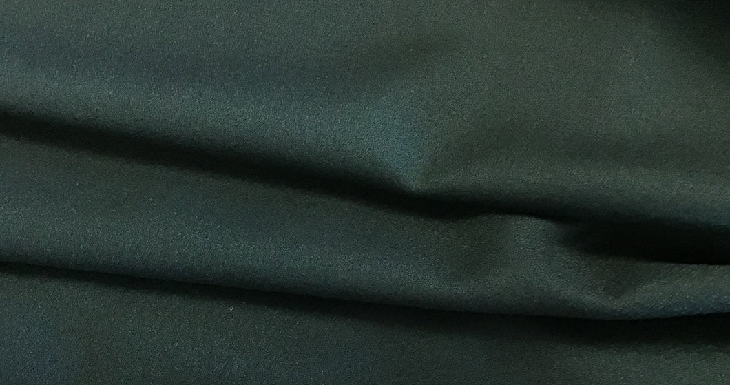 100% Wool Textured Wool Black