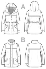 Load image into Gallery viewer, Closet Case Kelly Anorak Pattern