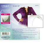 "Shoulder Pads Medium White - 12mm / 1/2"" - 2pcs 3048120"