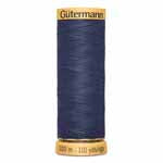 Gutermann 100% Cotton Thread   100 meters.   Colours.   #6170 - #9800