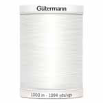 Gutermann 100% Polyester Thread   1000m