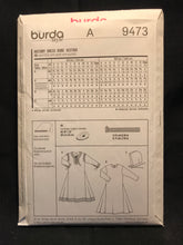 Load image into Gallery viewer, Burda 9473. Size 3 - 13