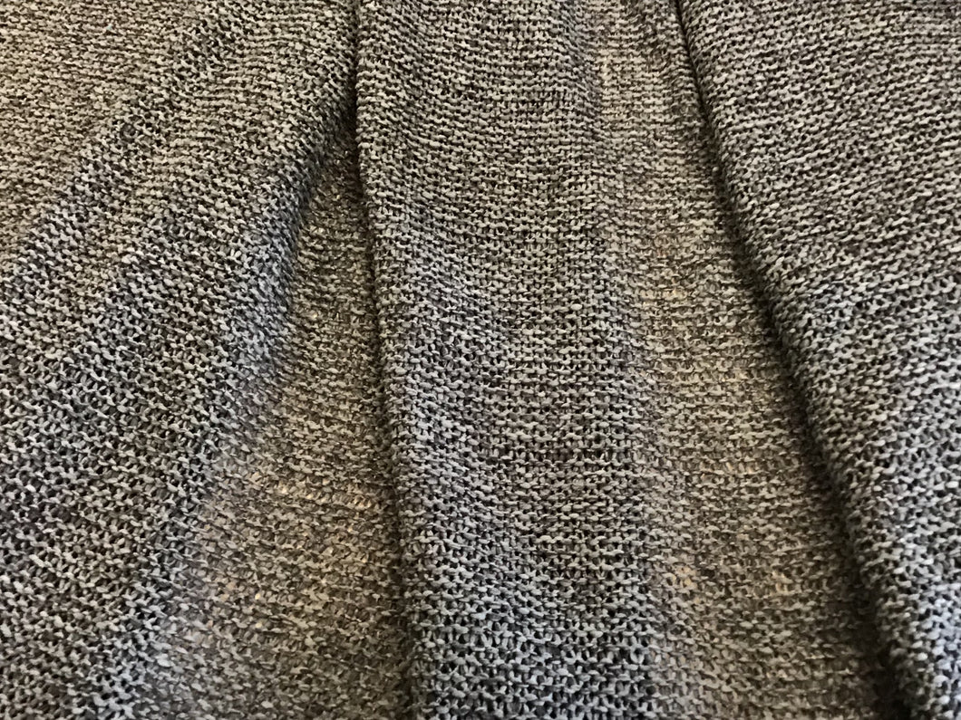 Dark Grey Wide Knitted 100% Polyester