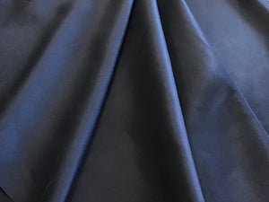 Navy Satin 100% Silk Twill