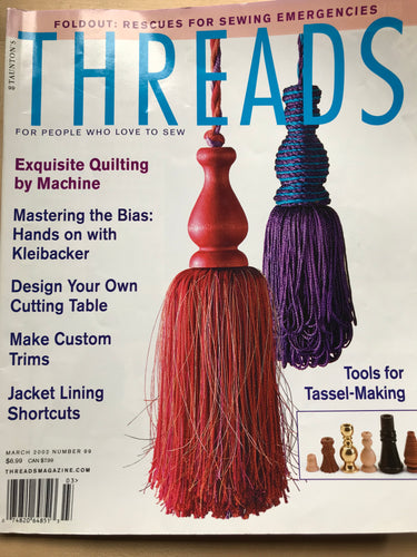 Threads Magazine Issue #99  March 2002