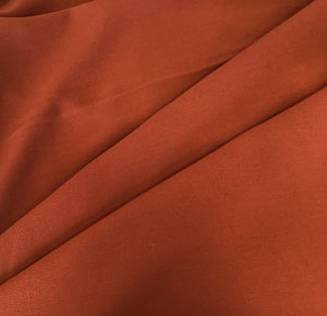 Orange Double Wool Crepe
