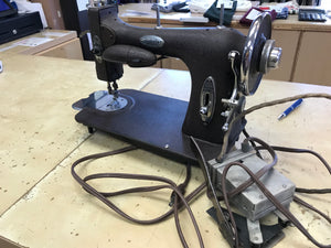 1955 Vintage White Rotary Sewing machine