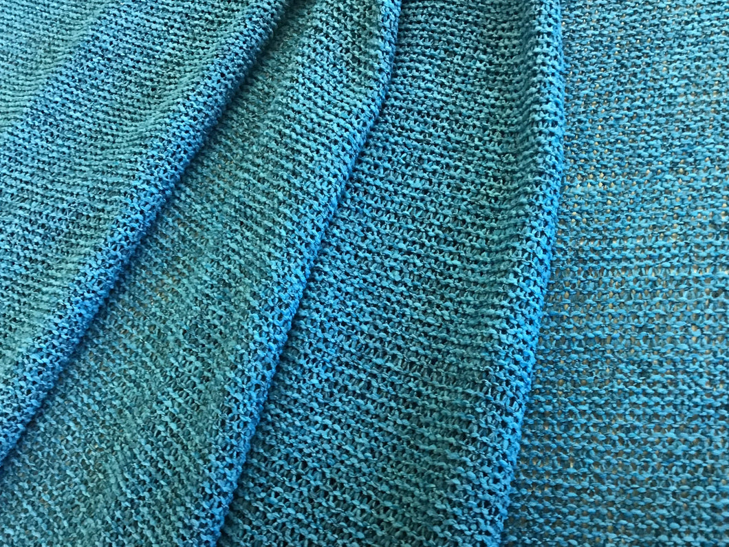 Teal Wide Knitted 100% Polyester