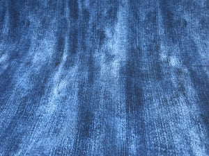 Denim Print Knit 95% Polyester 5% Spandex.    1/4 Meter Price