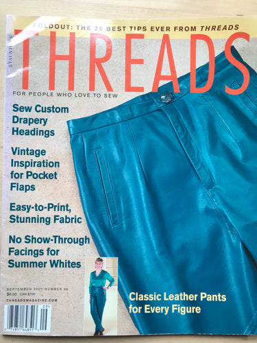 Threads Magazine Issue #96  September 2001