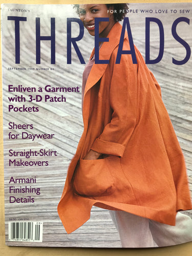 Threads Magazine Issue #84  September 1999