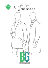Load image into Gallery viewer, BG Sewing Patterns - The Gentleman Coat *** French Version ***