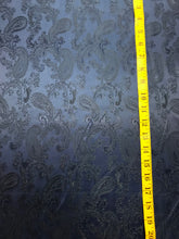 Load image into Gallery viewer, Royal Blue Viscose Paisley Lining