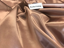 Load image into Gallery viewer, Rose Gold Kasha Lining     1/4 Meter Price