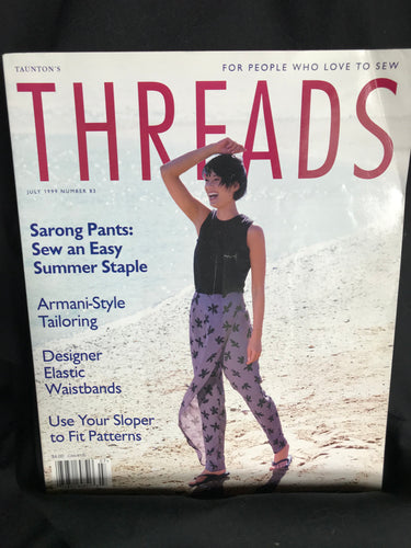Threads Magazine Issue #83 July 1999
