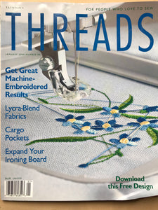 Threads Magazine Issue #86  January 2000