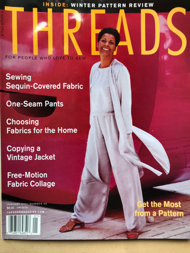 Threads Magazine Issue #92  January 2001