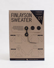 Load image into Gallery viewer, Thread Theory Finlayson Sweater Pattern