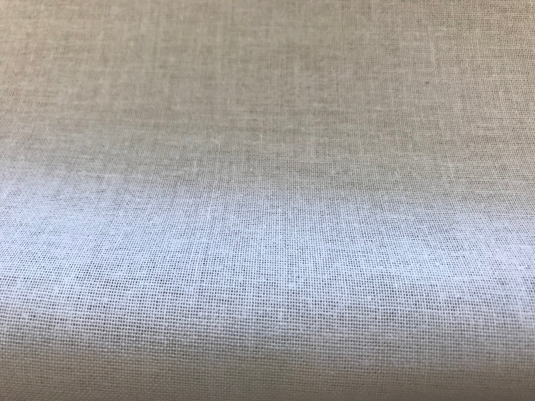 "100% Cotton Buckram 19 /2"" wide.    1/4 meter price"
