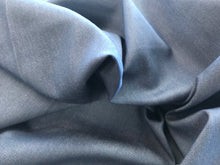 Load image into Gallery viewer, Blue Grey Repreve Denim 68% Cotton 30% Recycled Bottles 2% Lycra