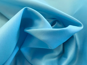 Ocean Blue Shirting 98% Cotton 2% spandex    1/4 meter Price