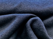 Load image into Gallery viewer, Navy Blue Boiled 100% Wool     1/4 Meter Price