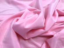 Load image into Gallery viewer, Pink 100% Silk Lightweight Stretch Silk Charmeuse.    1/4 Metre price