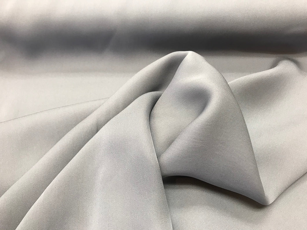 Lavender Grey 100% Silk Georgette     1/4 Meter Price