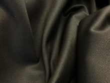 Load image into Gallery viewer, 12 oz Black  100% Cotton Twill     1/4 meter price