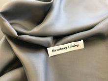 Load image into Gallery viewer, Grey Bemberg #2 Lining     1/4 Meter price