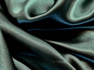Forest Green 100% Silk Charmeuse     1/4 Meter Price