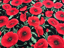 Load image into Gallery viewer, Poppy Dreams 100% Cotton     1/4 Meter price