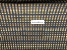 Load image into Gallery viewer, Brown Plaid 100% Viscose Lining     1/4 Meter Price