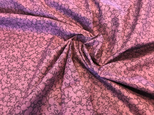 Liberty Wiltshire Mulberry 100% Cotton     1/4 Meter Price
