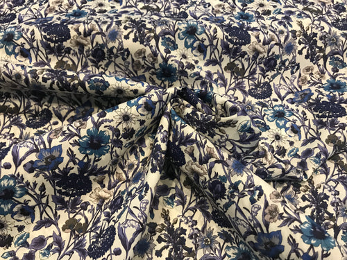 Rachel Liberty Tana Lawn 100% Cotton     1/4 Meter Price