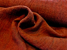 Load image into Gallery viewer, Crinkle Mahogany Linen.     1/4 Meter Price