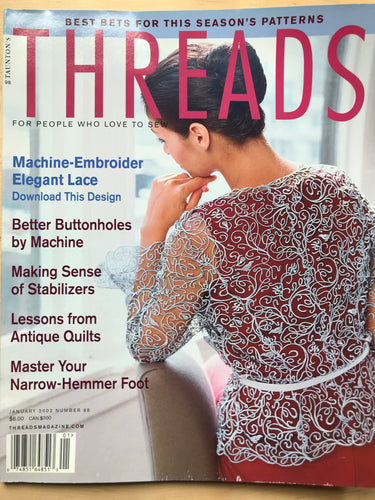 Threads Magazine Issue #98  January 2002
