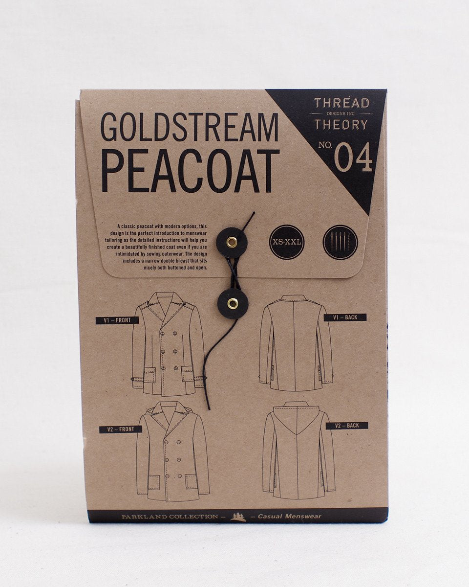 Thread Theory Goldstream Peacoat Pattern
