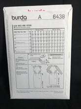 Load image into Gallery viewer, Burda 6438  Size 8 - 18