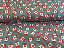 Load image into Gallery viewer, 100% Cotton Canadian Flag