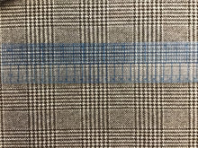Load image into Gallery viewer, Glen Plaid 100% Cashmere.    1/4 meter price