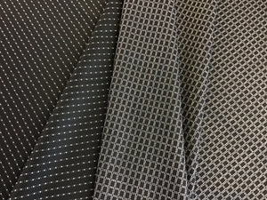 Reversible Wool Suiting Black & White